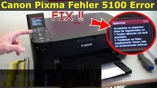 Canon Printer Error Code 5100