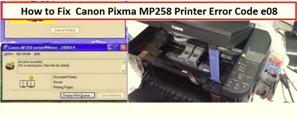 Canon-Pixma-MP258-Printer-Error-Code-e08