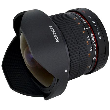Rokinon 8mm F/3.5 HD Fisheye
