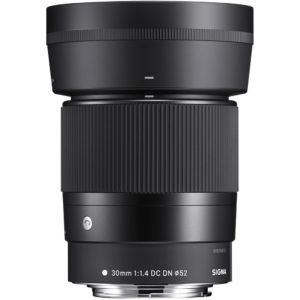 Sigma 30mm f/1.4 canon eos r