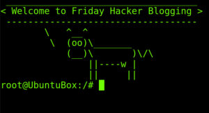 Friday Hacker Blogging