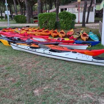 Canoa-kayak: Escursione da Monfalcone a Marano  Lagunare