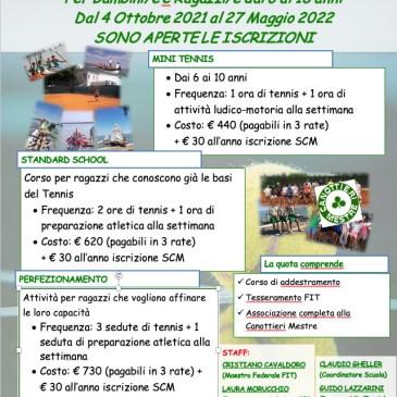 Scuola Tennis 2021-2022