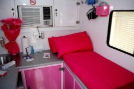 Inside Mobile Health Clinic