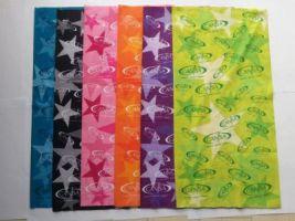Colourful CANSA Wraps