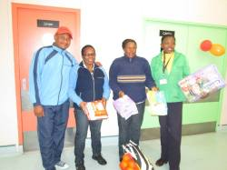 Kids from CANSA TLC Ward were blessed by people of Polokwane