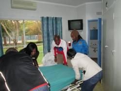 SANDF Capricorn High CapricornFM JacarandaFM LandmarkLodge BCC visited CANSA Theunis Fichardt Hospitium Polokwane