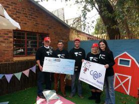 eNUUS Cap donate R 30000 to CANSA