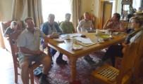 Meeting at Groot Schuur to discuss wording of Memorandum of Agreement