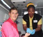 Nurses do screening