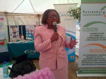 Dorothy Masiane Phakamisa Navigator & CANSA Volunteer