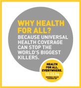 Universal health coverage can stop world's biggest killers