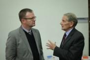 Prof Michael Kew with Prof Patrick Arbuthnot