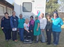 Ensuring screening in remote areas