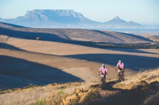 Cycling to raise awareness