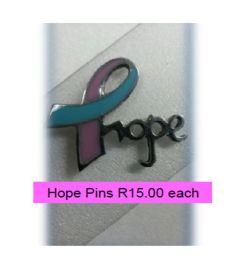 HOPE pins