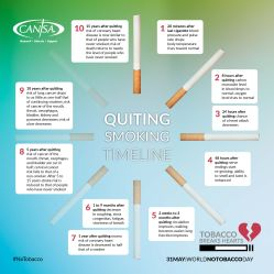 Quiting Smoking Timeline