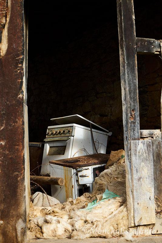 Interior de una casa de Porcieda