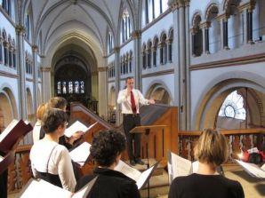 """Konzert """"Songs & Hymns"""", Juni 2013, Bonner Münster"""