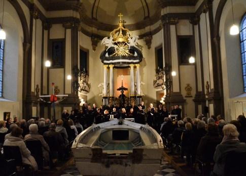 Wo die Güte und die Liebe wohnt, Ursulinenkirche Köln, Foto: Stefan Roller-Aßfalg