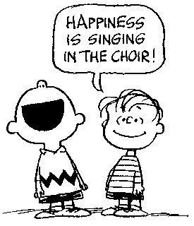 Afbeeldingsresultaat voor koor zingen