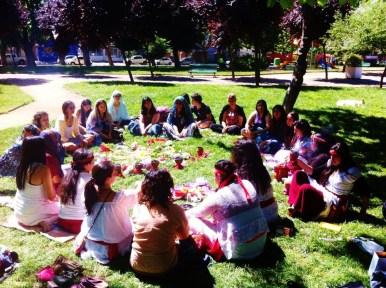 Bendición de útero, Talca- Chile 2014