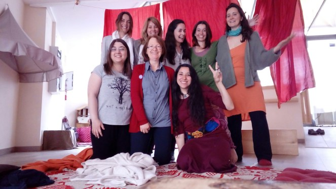 Encuentro sanación memorias vida intrauterina, Barcelona
