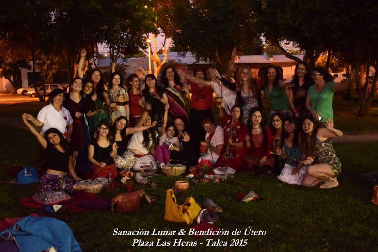 Bendición de útero, Talca- Chile 2015