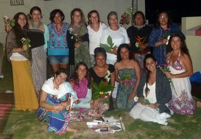 Taller sanación linaje materno, Bacalar- México