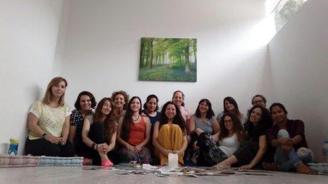 Taller constelación memorias uterinas, Murcia- España