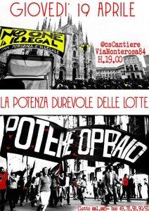 Toni Negri al Cantiere. La potenza durevole delle lotte. @ Centro Sociale Cantiere | Milano | Lombardia | Italia