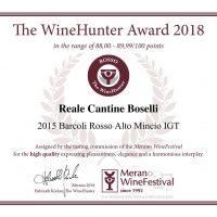 The WineHunter Award_ROSSO1502