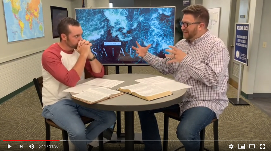 Video Lesson Summary- Isaiah Session 5- Isaiah 25:1-10