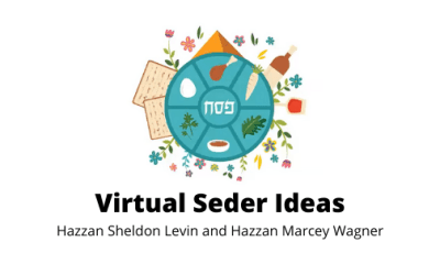 Virtual Seder Webinar Replay Now Available