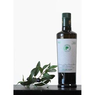 Foto olijfolie Pio del Ramo Organic Arbequina Extra virgen olijfolie 500 ml