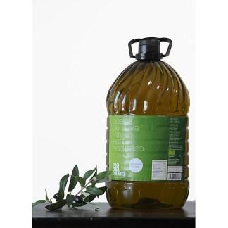 Foto olijfolie Pio del Ramo Organic Extra Virgen Coupage 5L