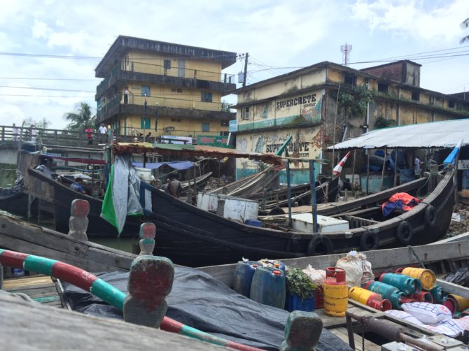 Fishing trawler Teknaf Ghat Bangladesh