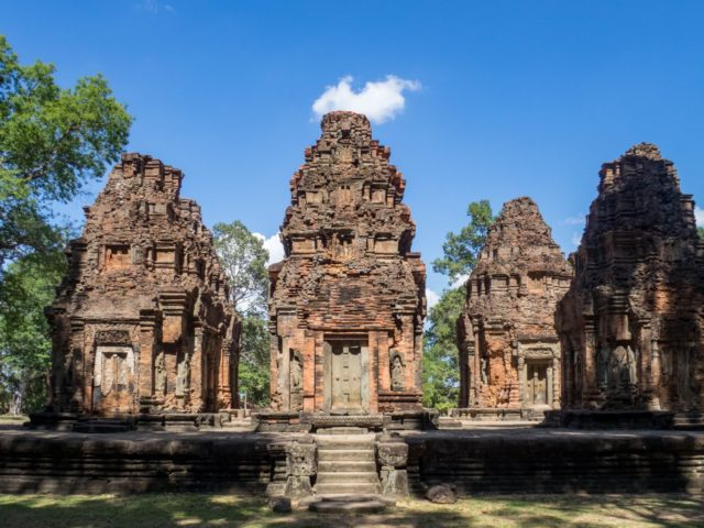Preah Ko Temple - Rolous Group - Angkor Archaeological Park in Siem Reap, Cambodia
