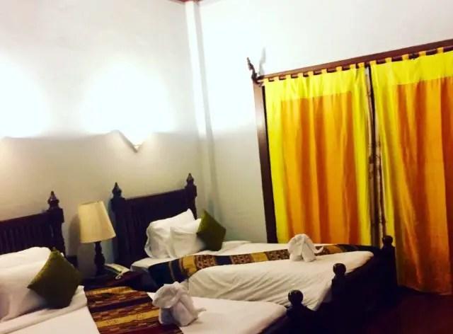 Deluxe Room at Muang Thong Hotel in Luang Prabang, Laos
