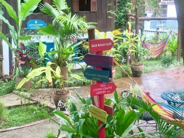 Ok Pop Tok Silk Road Cafe in Luang Prabang, Laos