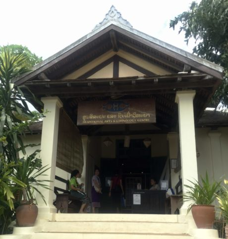 Traditional Arts and Ethnology Centre in Luang Prabang, Laos