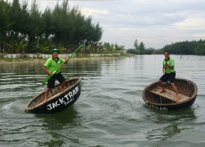 Thung Chai Basket Boats - Jack tran Tours in Hoi An, Vietnam