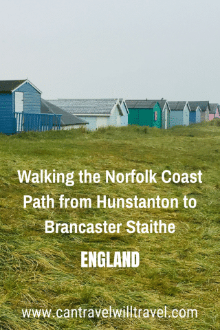 Walking the Norfolk Coast Path from Hunstanton to Brancaster Staithe Pin2