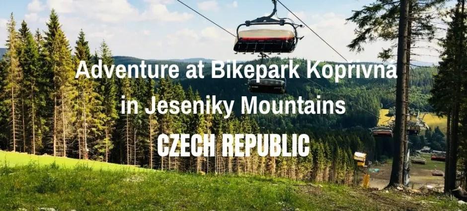 Adventure at Bikepark Kopřivná in Jeseniky Mountains   Czech Republic