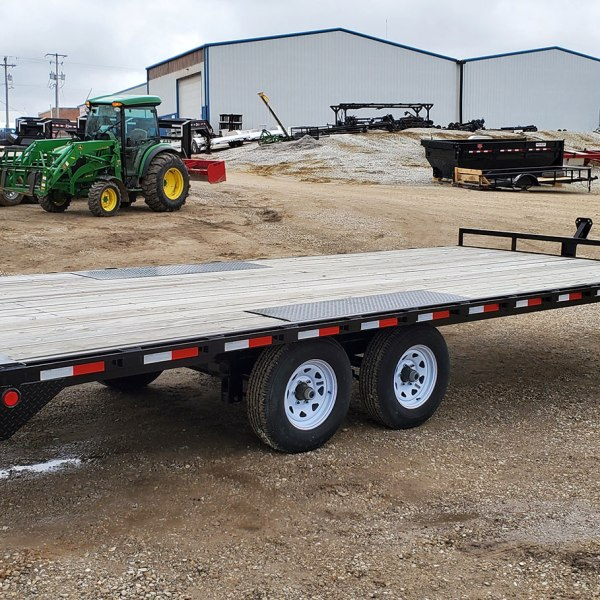 "PJ Trailers Trailer L6 6"" CHANNEL DECK OVER"
