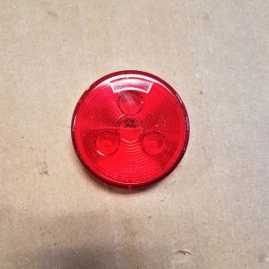 "C030319 2 1/2"" RED LED CLEARANCE LIGHT"
