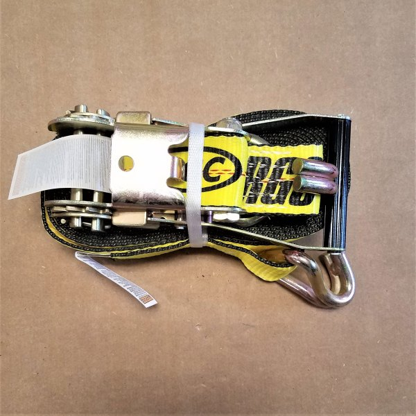 """26027-WH 2"""" X 27' RATCHET STRAP W/ WIRE HOOK"""