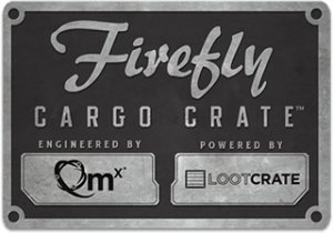 Firefly Cargo Crate Logo - Loot Crate