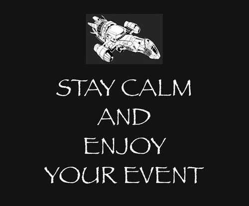 Stay Calm and Enjoy Event