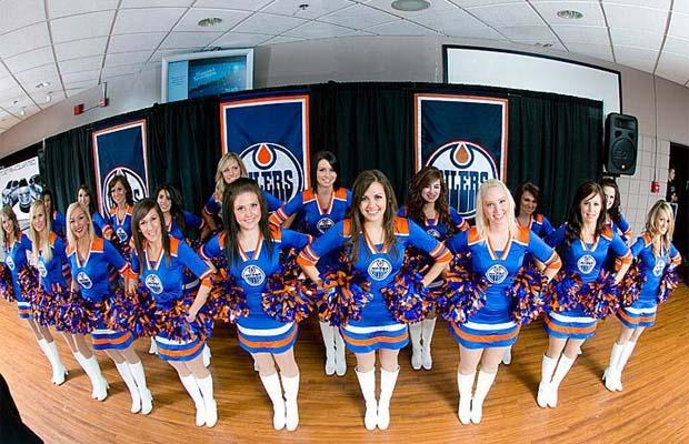 Oilers Octane Cheerleaders